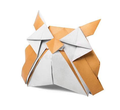 Origami White Paper - origami paper owl stock photography image 36770352