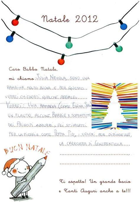 lettere a babbo natale lettera a babbo natale esempio sweetangelgifts