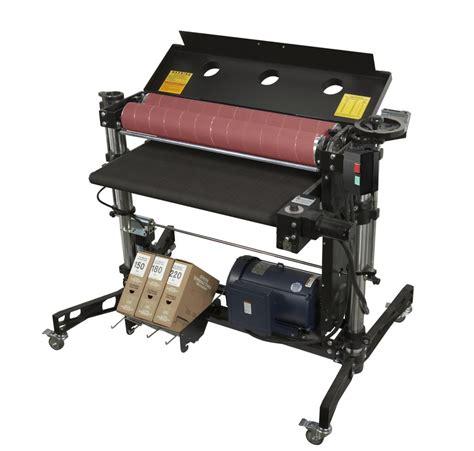 double drum sander supermax tools