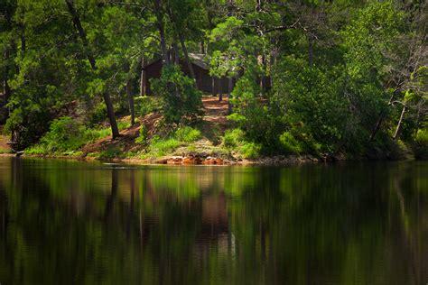Lake Bastrop Cabins by Bastrop State Park Landscape Photography