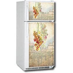 Home Appliance Cover Appliance Tuscan Grapes Refrigerator Cover 13115654