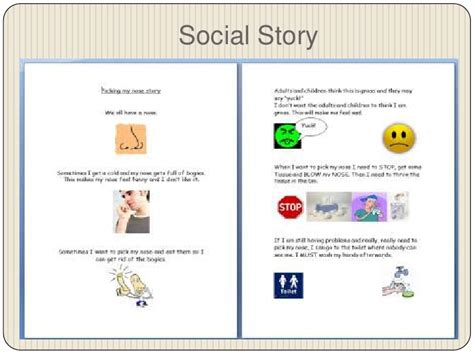 social story templates 28 social story template visual social story packet for
