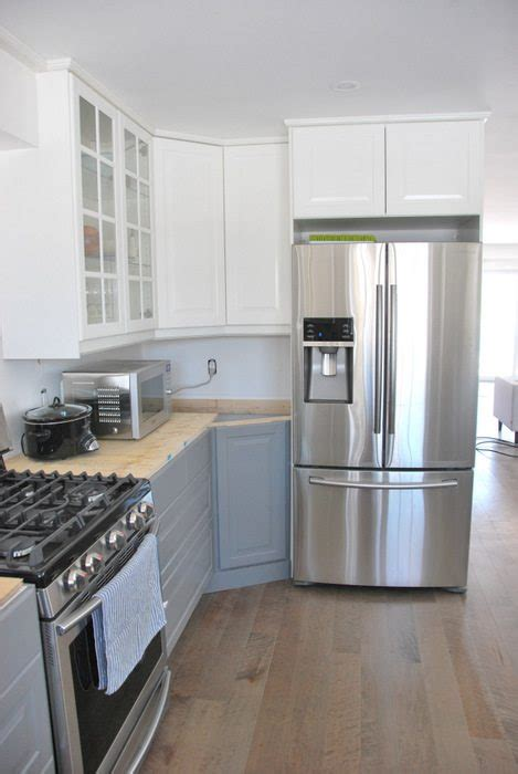 kitchen renovations using gray and white a gray and white ikea kitchen transformation the sweetest digs