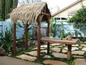 Garden Tiki Hut Tropical Outdoor Space Photos Hgtv