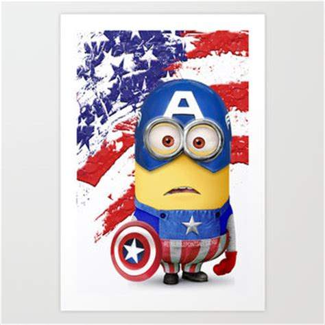 Despicable Me Captain America C0189 Iphone 7 iphone cases for cool quotes she from