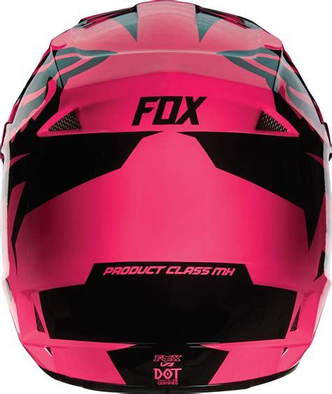 cheap fox motocross clearance fox 2016 v1 race helmet pink online