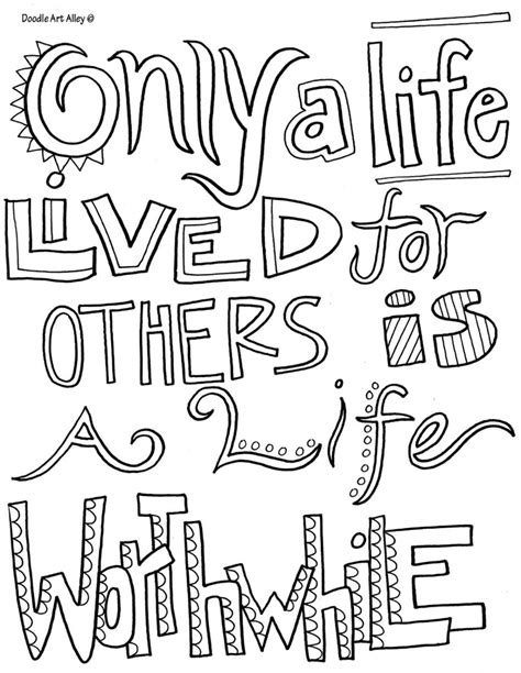 Printable Coloring Pages Of Quotes | printable coloring quotes love quotesgram