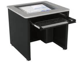 Desk For All In One Computer Downview Computer Desk Dv Versatables
