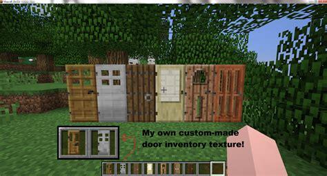 New Doors Coming To Minecraft Plus My Very Own Inventory Glass Door Minecraft
