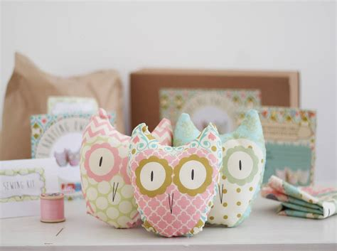 craft kits for three hooting owls beginners craft kit by lou brown