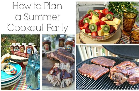 how to throw a summer backyard party how to throw a summer cookout party