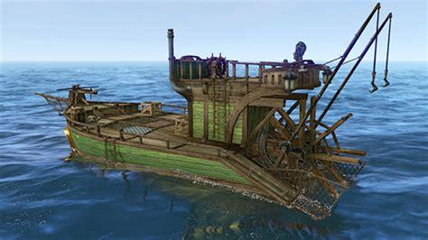 boat building games sea archeage