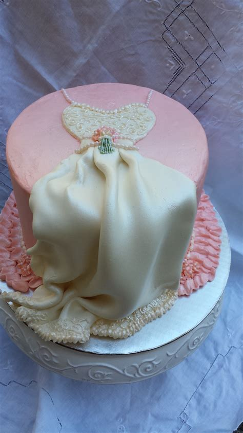 wedding shower cakes classic wedding dress cake for shower cakecentral