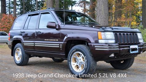 1998 jeep grand limited 1998 jeep grand limited 5 2l v8 4x4 leather