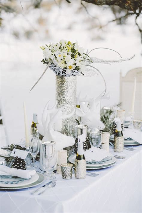 Top 20 Tablescape Ideas For Winter Wedding