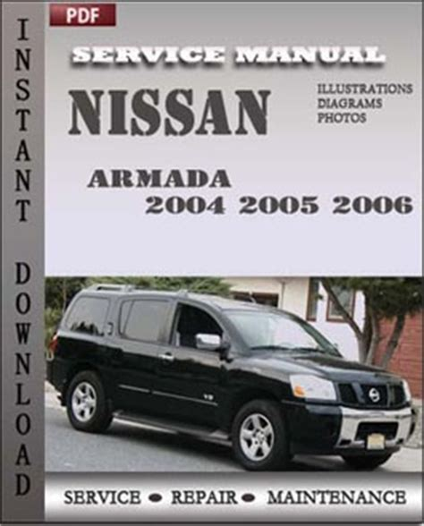 car repair manual download 2006 nissan armada windshield wipe control 2004 nissan armada owners manual release date price and specs