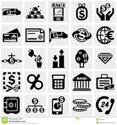 office and business vector icons set on gray royalty free stock images image 33973149 business finance vector icons set on gray stock image image 33947821