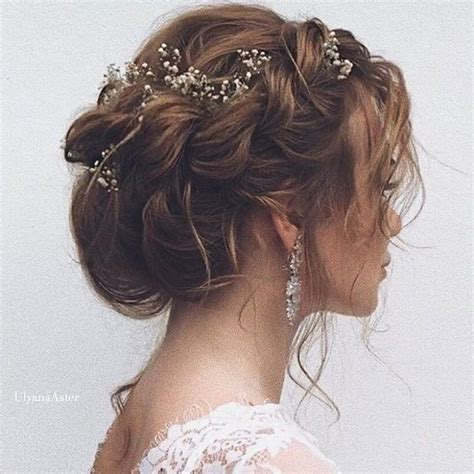 Wedding Updo Hairstyles For Hair by 21 Inspiring Boho Bridal Hairstyles Ideas To