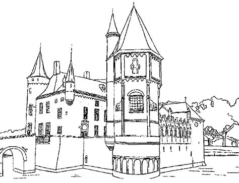 coloring pages castle tower adult coloring castle coloring pages