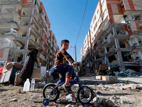earthquake kermanshah iran s death toll climbs to 530 after powerful earthquake