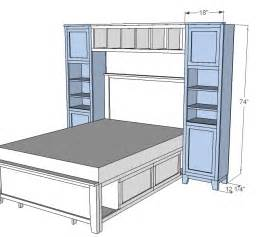 white hailey towers for the storage bed system diy