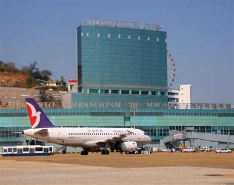 macau airport  handle  million travellers   games magazine brasil
