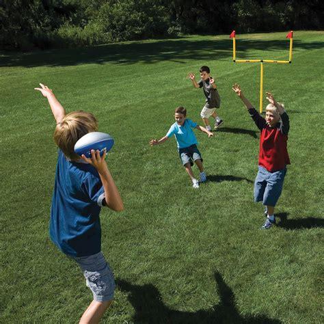 the winning field goal backyard goal post hammacher