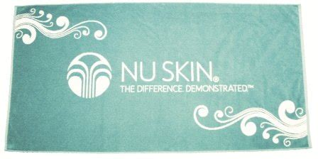 Nu Skin Business Card Template by Terry Towel With Nu Skin Logo