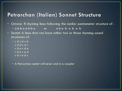 six line sonnet section sonnets sonnetto meaning little song ppt download