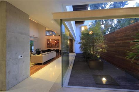 style homes with interior courtyards modern concrete villa with beautiful interior courtyard