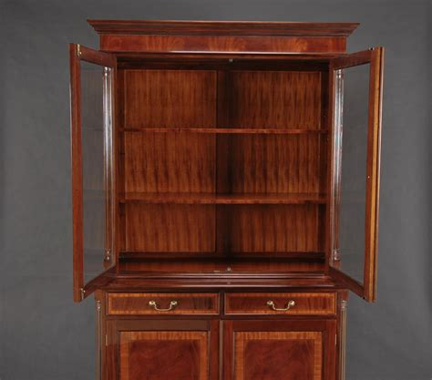 High End Mahogany Two Door China Ebay