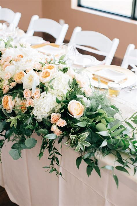17 Best images about Head Table Florals & Garlands on