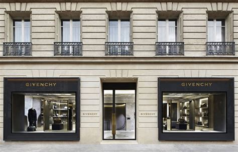 home design stores in paris givenchy store at avenue montaigne paris france 187 retail design blog