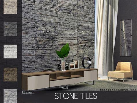 stone tiles  rirann  tsr sims  updates