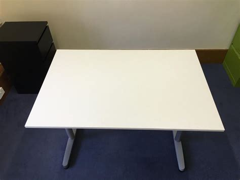 ikea adjustable height desk ikea galant height adjustable desk white walsall dudley