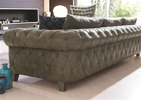 Gold Chesterfield Sofa Gold Chesterfield Sofa In Green Leather Not Just Brown