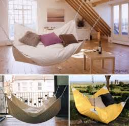 Bean bag chair hammock