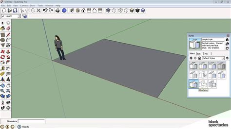 tutorial memakai google sketchup sketchup tutorial sketchup interface basic tools