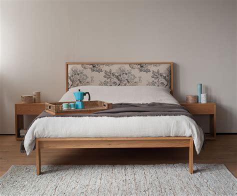 headboard l shop shetland bed padded headboard natural bed company