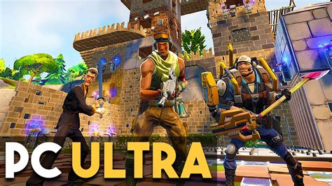 fortnite pc fortnite pc gameplay ultra settings survival building