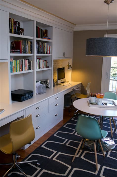 family home office reichelt family office contemporary home office dc metro by residents understood