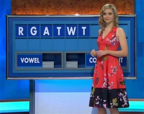 Channel Dress 4 countdown s flashes cleavage in plunging