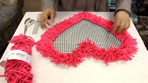 hoooked tutorial alfombra corazon youtube