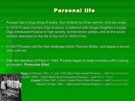 picasso paintings ppt pablo picasso power point