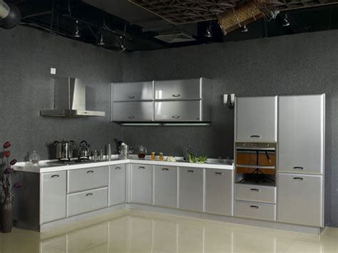 kitchen steel cabinets stainless steel kitchen cabinets smart home kitchen