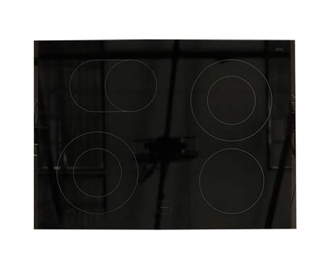 kitchenaid kesssww main glass cooktop replacement black genuine oem