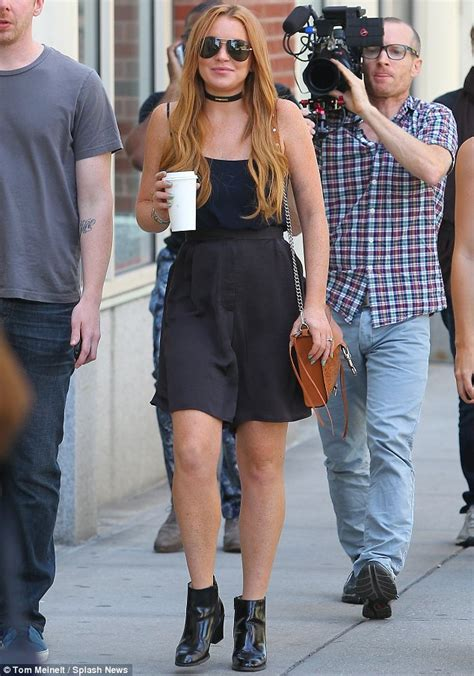 Lindsay Lohan Plays Rehab Hookie by Lindsay Lohan Launches New As She Continues To