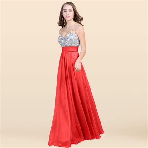 new gaun dress long v neck chiffon shimmering dress free nubra
