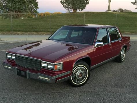 86 cadillac coupe daily turismo one owner 1986 cadillac sedan