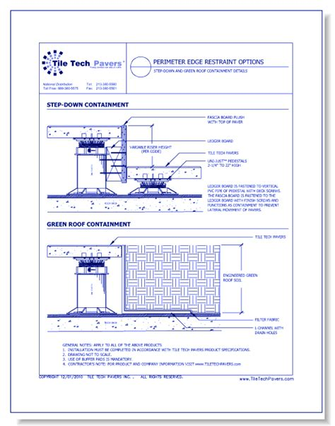 Paver Pedestals Hybrid Pedestal System Tile Tech Pavers Caddetails